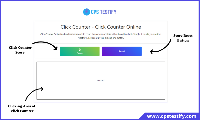 how to use click counter
