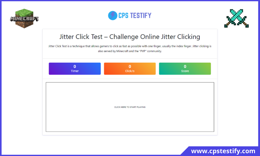 jitter click test